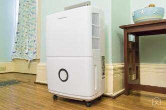high humidity in home dehumidifier