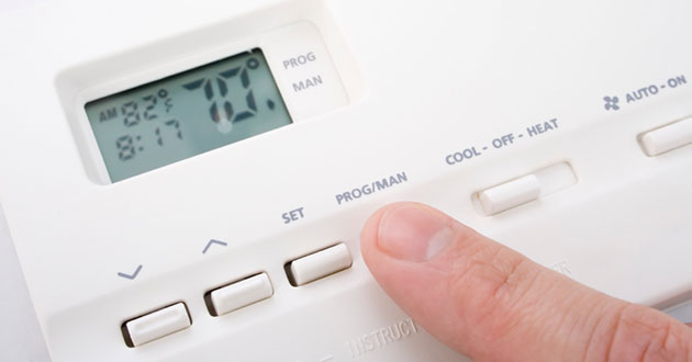 thermostat temperature settings
